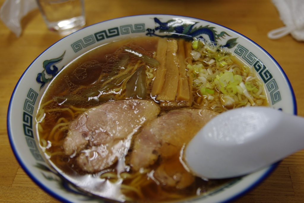 A bowl of Asahikawa ramen
