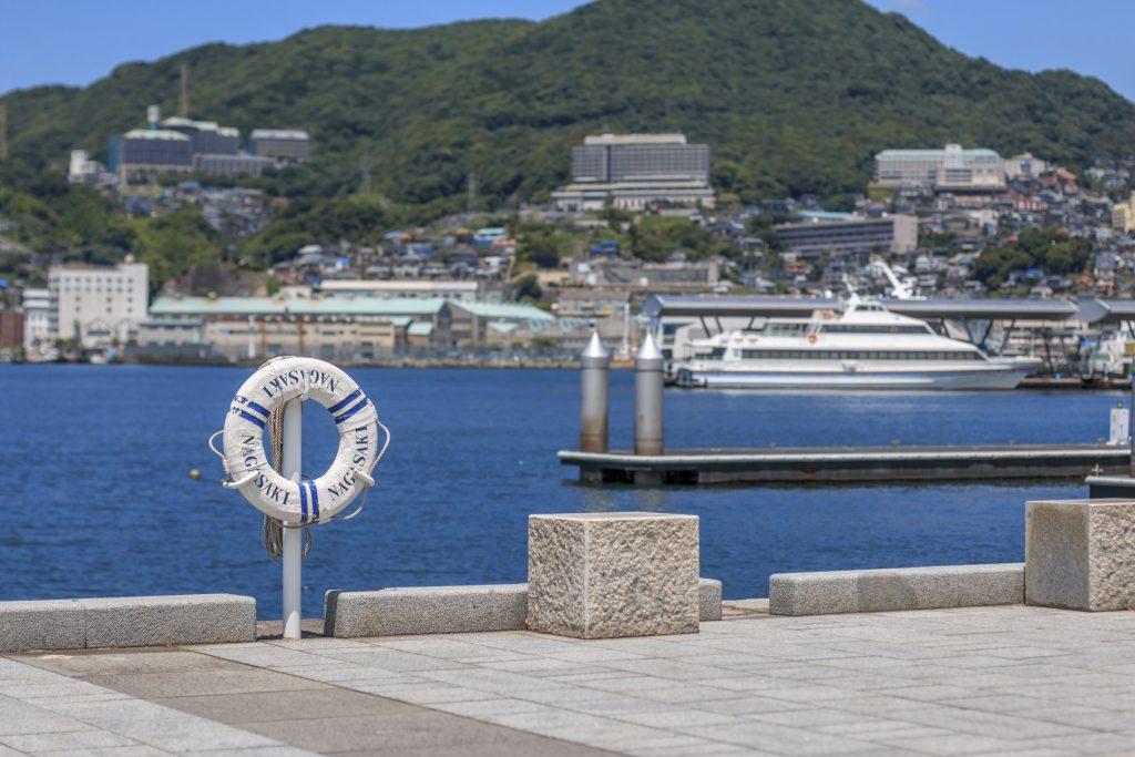 View of Nagasaki Bay