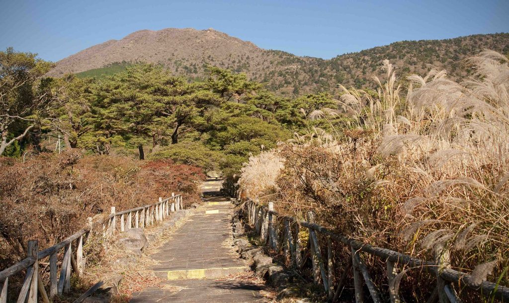 Unzen hot springs area - Obama onsen
