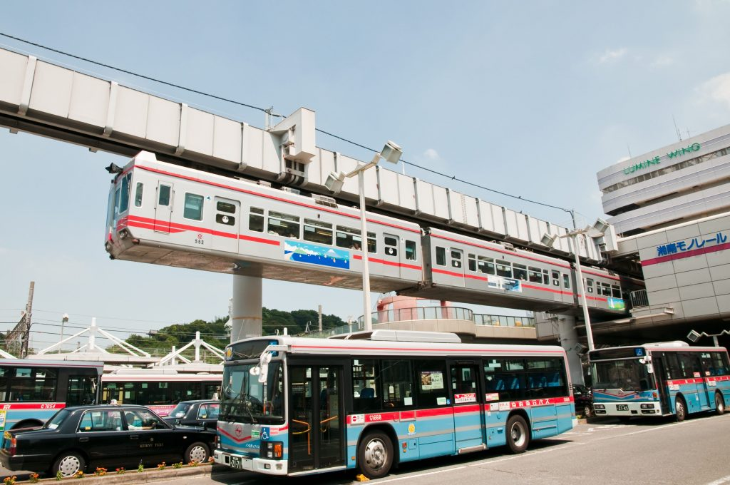 View of the Shonan Monorail