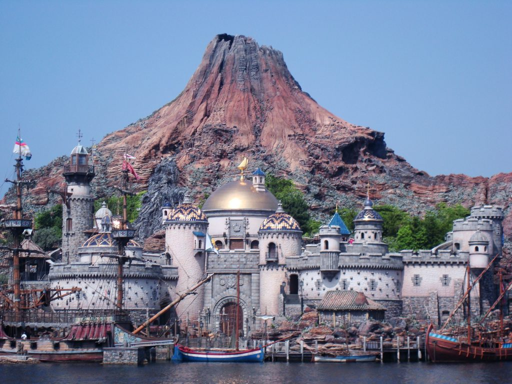View of Magic Mountain at Tokyo DisneySea.