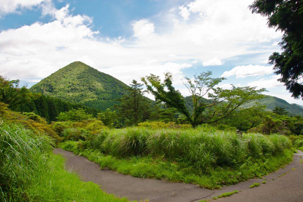 Volcanic landscape at Unzen Hot Spring - Japan