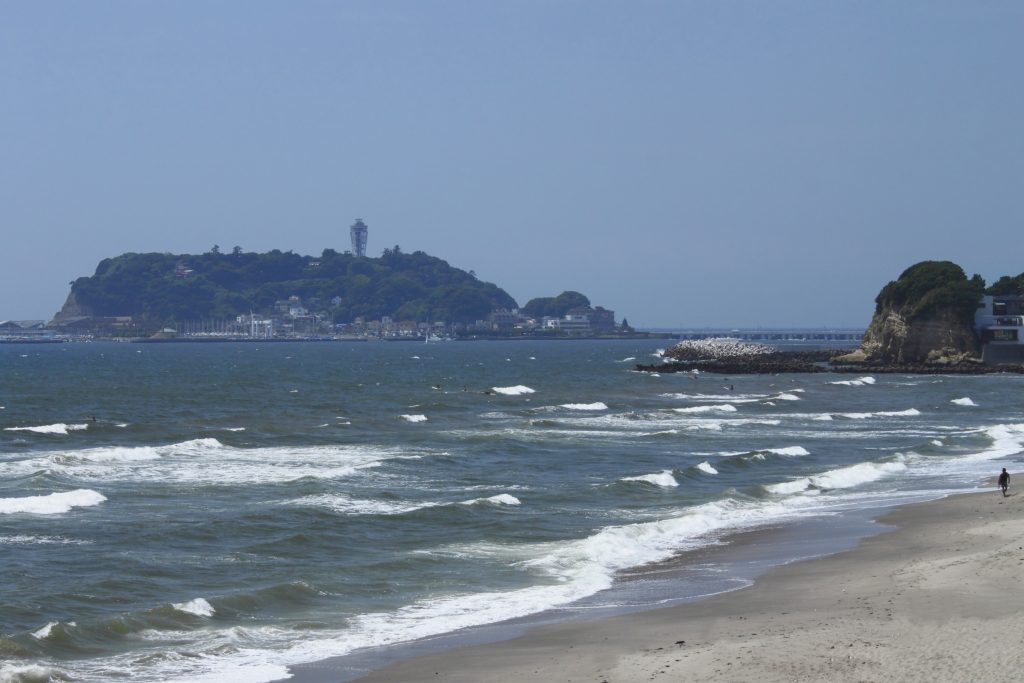 Seaside resort in Enoshima