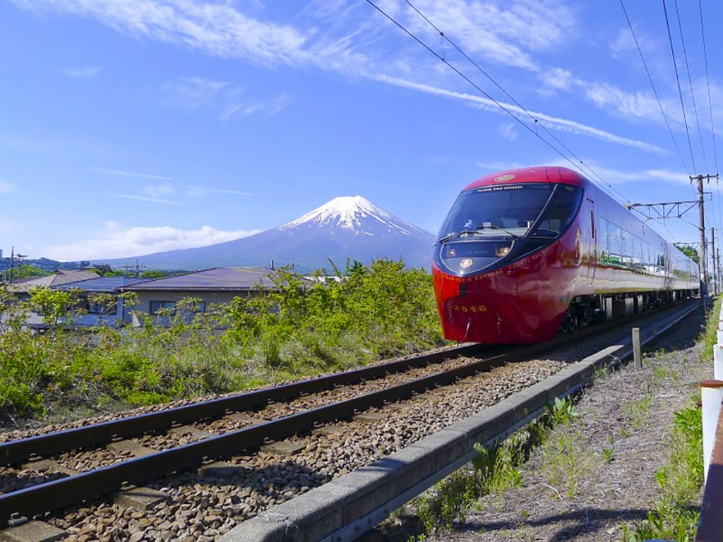 You can take the scenic Fujikyuko railway from Otsuki station. to Fuji Q Highlands.