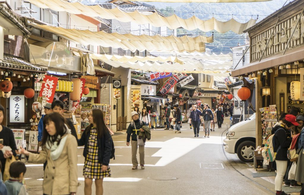 Miyajima Shopping street