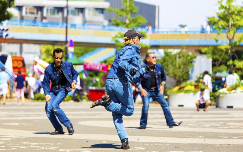 Rockabillly Gang Men Jeans Twist Dance Yoyogi Park