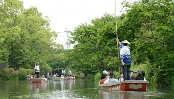 Yanagawa river cruise.