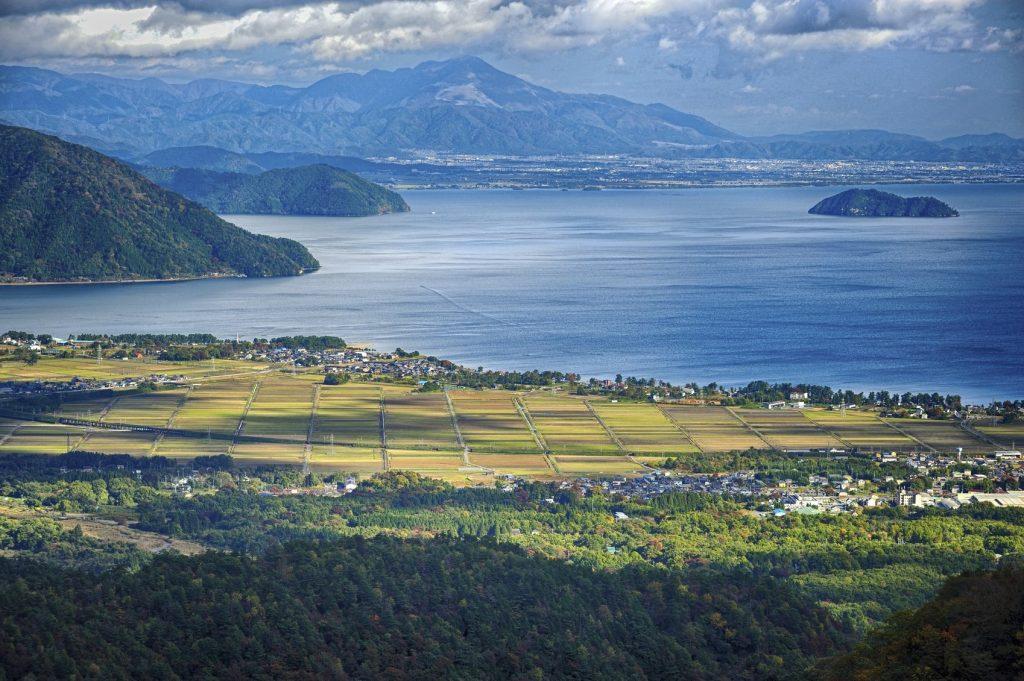 Lake Biwa Omi Maiko Beach