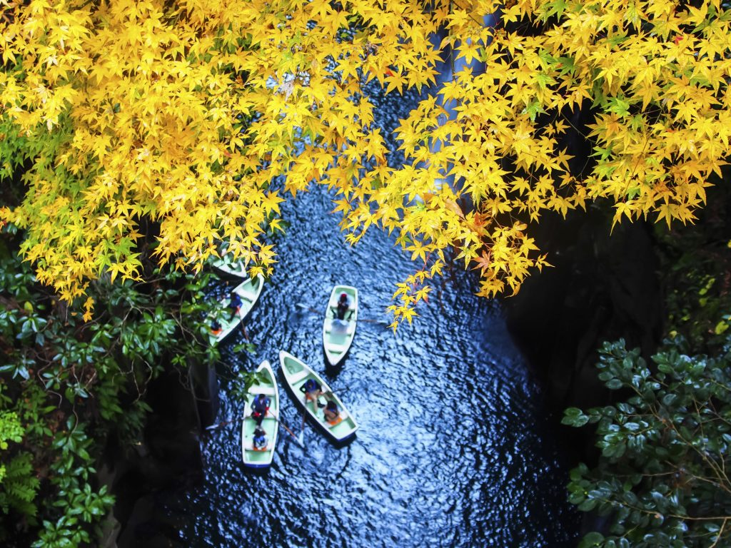 View of Takachiho Gorge