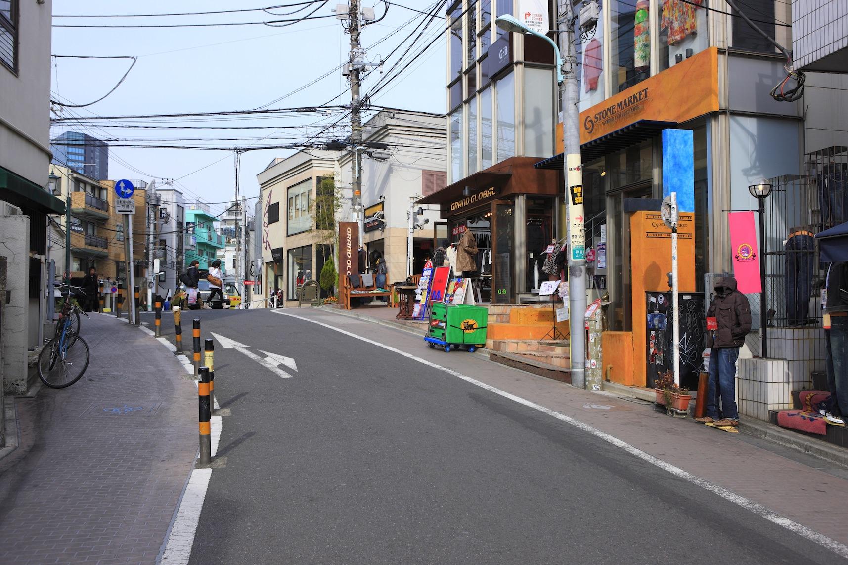 Harajuku Cat Street - GaijinPot Travel