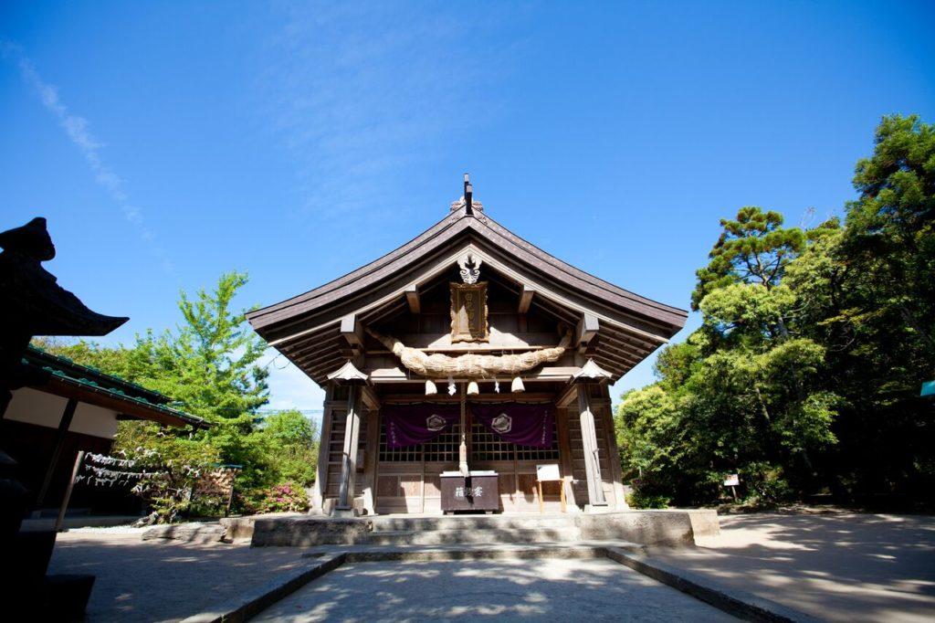 Hakuto Shrine, Hakuto Beach, Tottori Prefecture