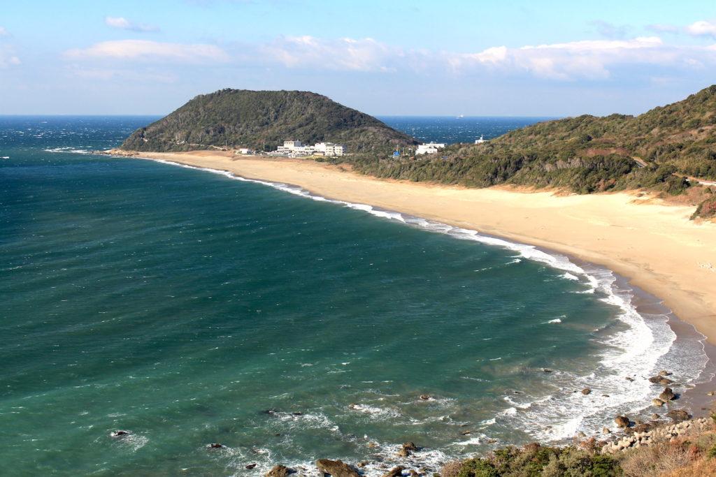 Kojihama Beach.