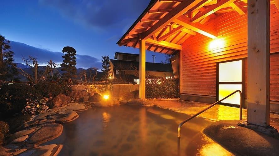 Naruko Onsen hot springs in Miyagi Japan