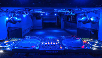 Club Circus Nightclub in Osaka Japan