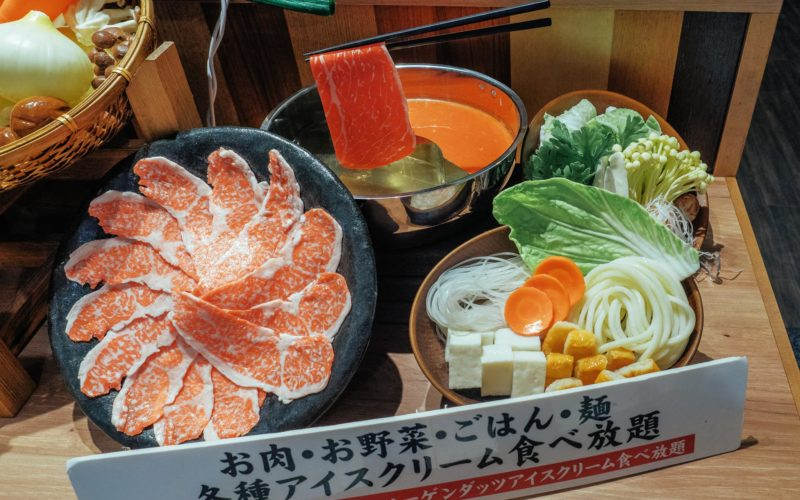 Fake Food replicas in Japan