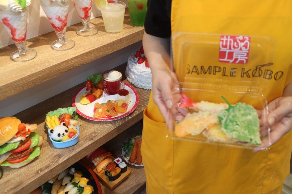 Sample Kobo Food Replica Shop in Gujo Hachiman Japan