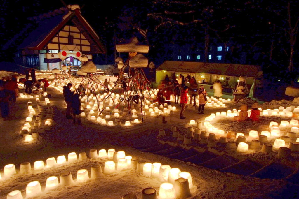 Jozankei Snow Light Path event.