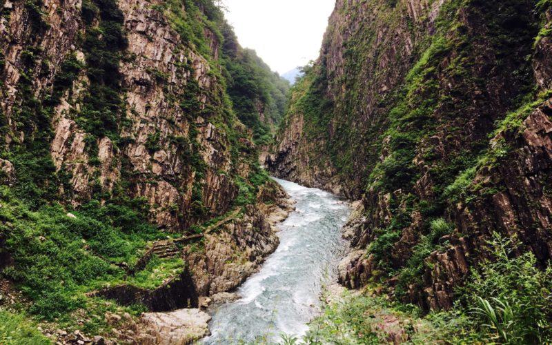 Kiyotsu gorge