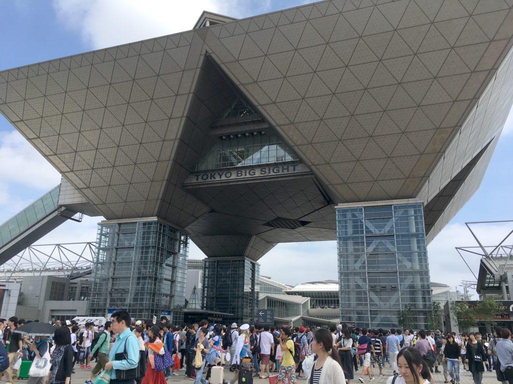 Comiket in Tokyo, Japan.