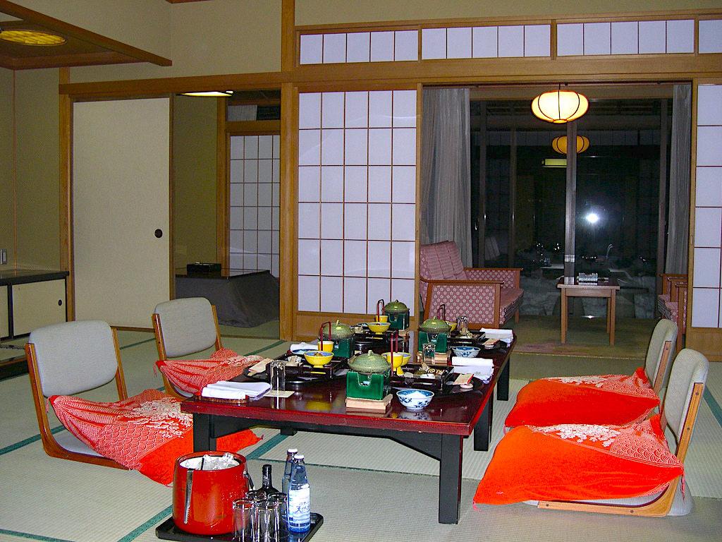 In Room Meal At Hotel Hyakumangoku