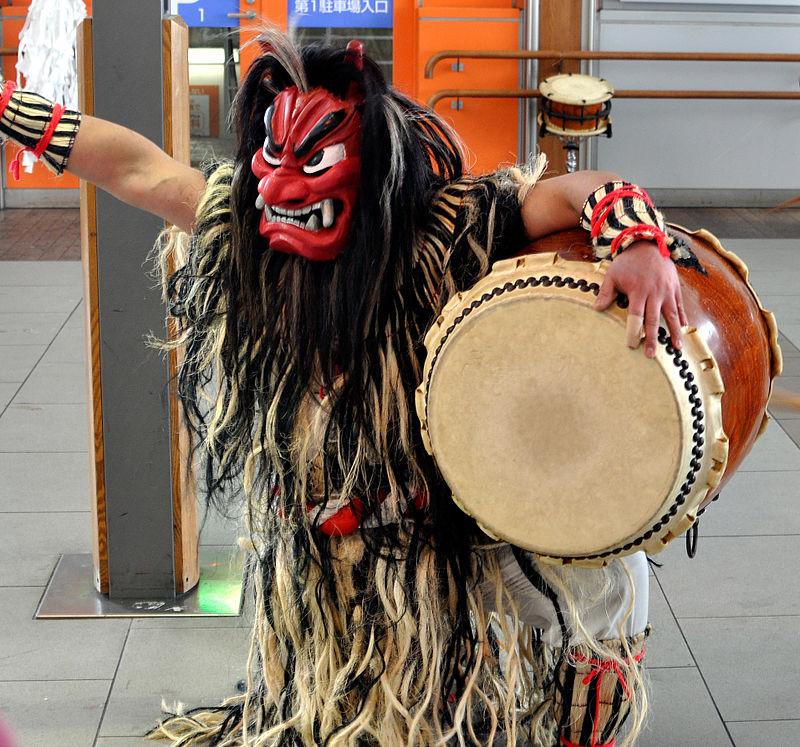 The Namahage Festival in Akita Japan