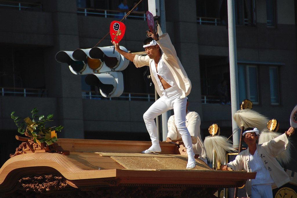 Kishiwada Danjiri Festival in Osaka
