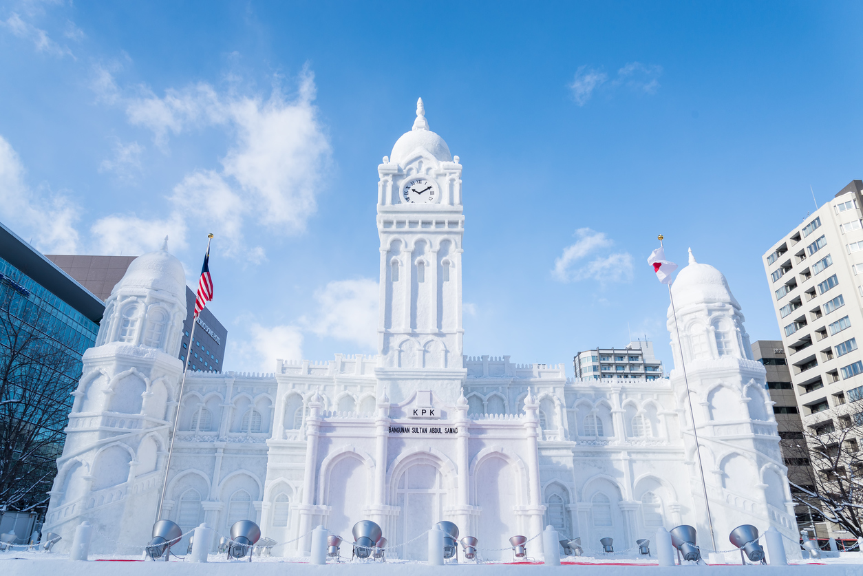 Image result for Sapporo Snow Festival 2019