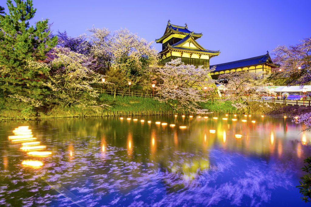 Nara, Japan at Koriyama Castle.