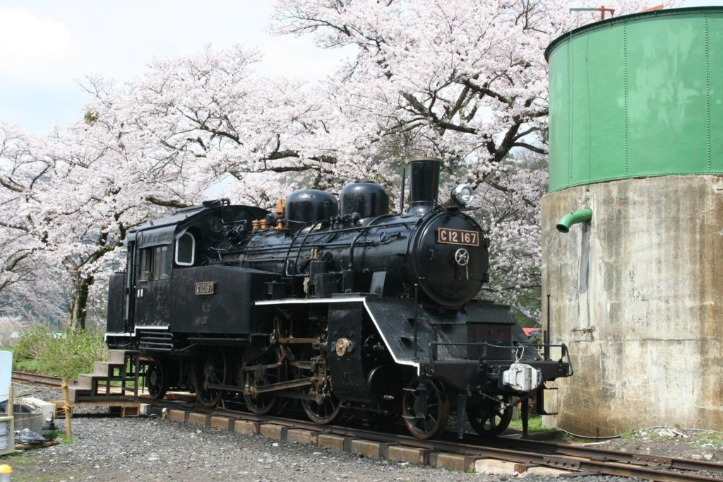 Wakasa steam locomotive