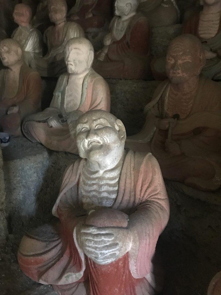 Iwami Ginzan faces
