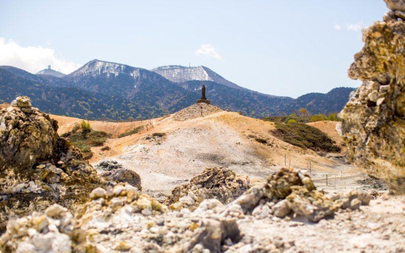 Mount Osore of Aomori, Japan