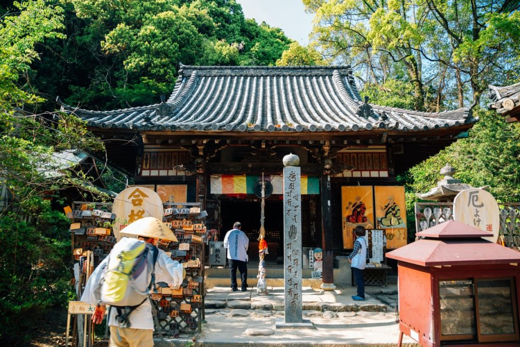Ishite-ji temple Shikoku 88 temple matsuyama