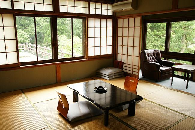 Ryokan in Japan.