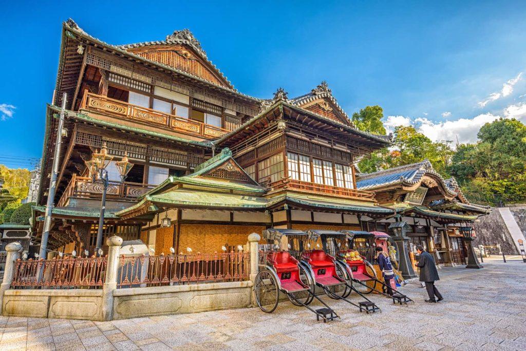 Dogo Onsen of Matsuyama in Ehime, Japan