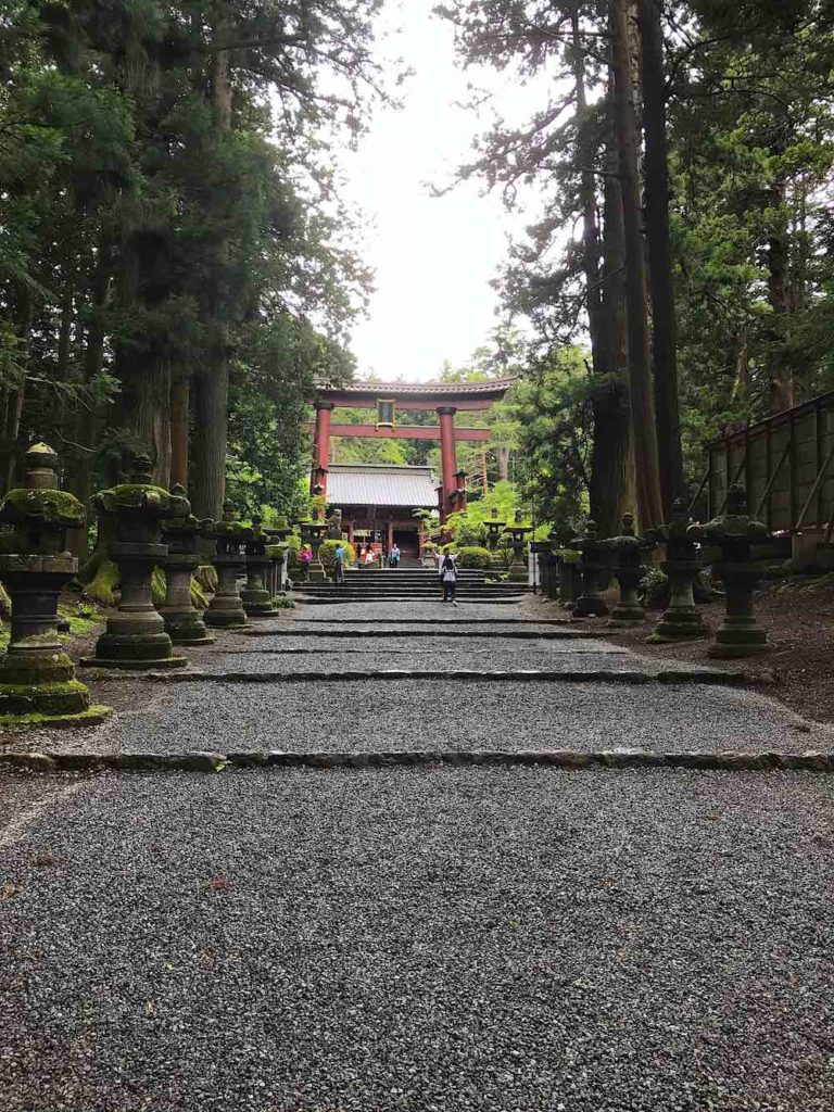 Sengen shrine entrance
