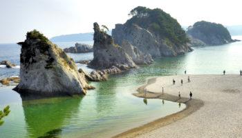 Jodogahama Beach in Iwate.