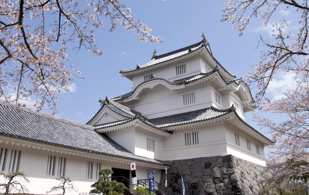 Otaki Castle is located on the Boso Peninsula of Chiba Prefecture.