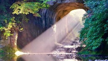 Kameiwa Cave in Chiba Japan was featured in National Graphic!