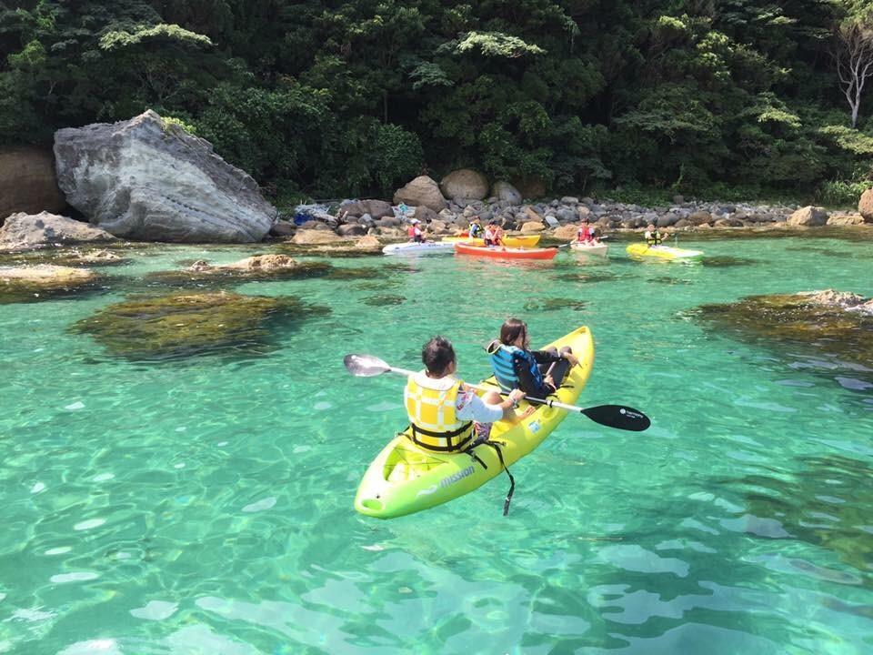 Geopark Sea Kayaking Takenohama beach