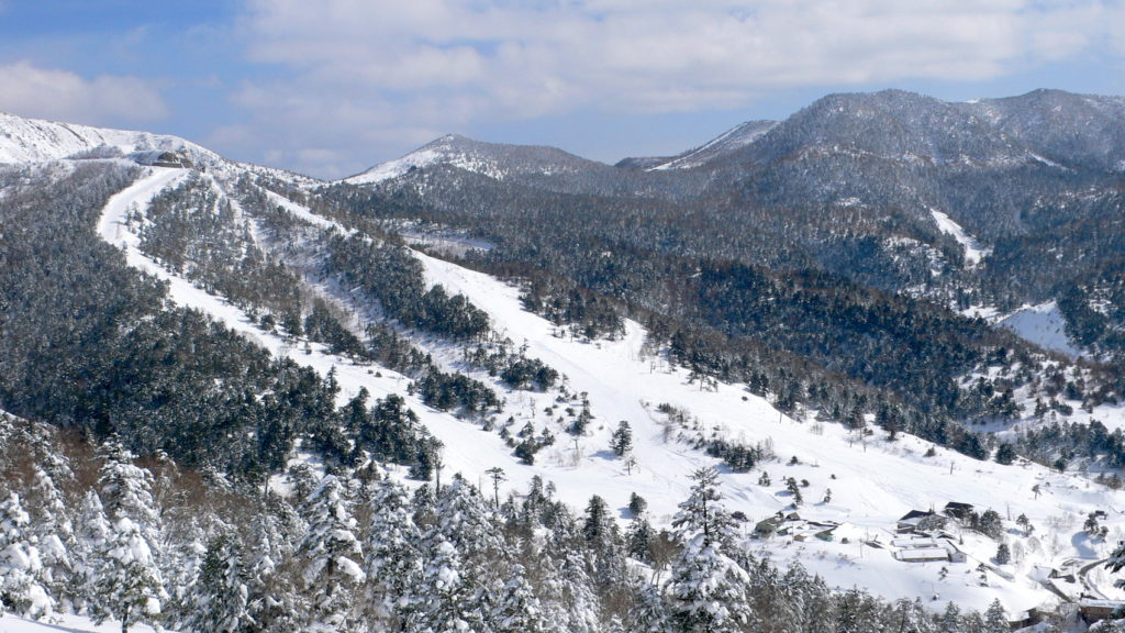 Manza Ski Resort at Mount Asahi