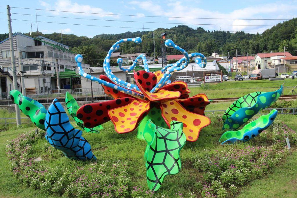 Matsudai Nohbutai art complex Yayoi Kusama