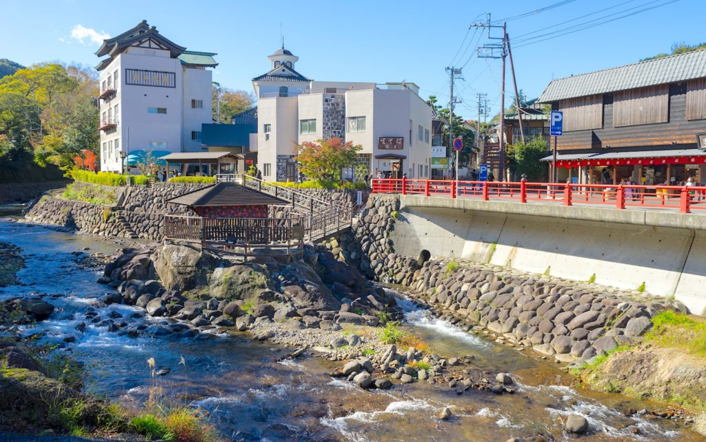 Tokko no Yu is the oldest hot spring in Izu.