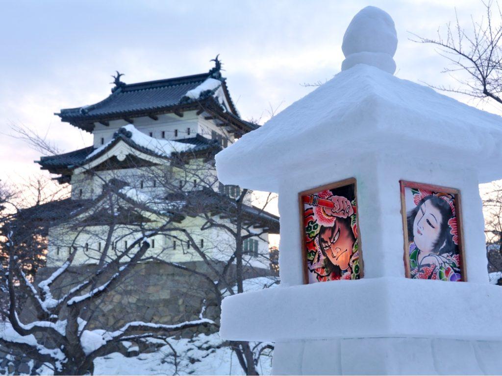 Hirosaki-Snow-Lantern-Festival