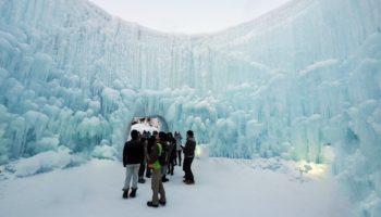 Feeling Icy at Lake Shikotsu.
