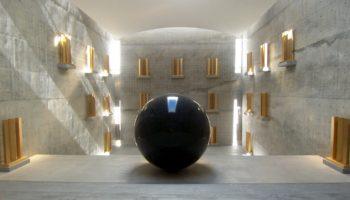 """The chamber"" at the Chichu Art Museum, naoshima"