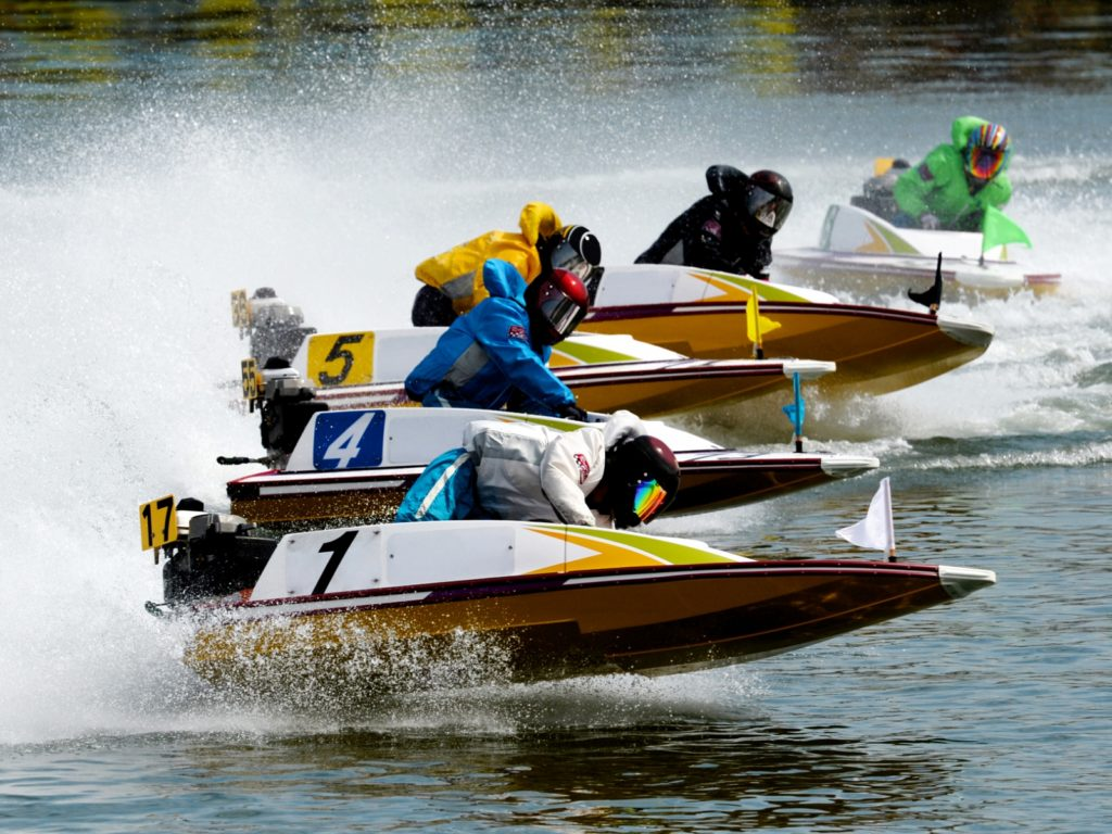 Boat racing 2 in Hamamatsu, Shizuoka