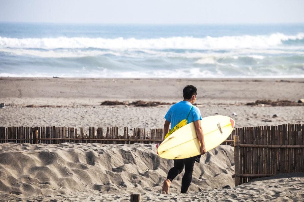 Nakatajima Sand Dunes in Hamamatsu..