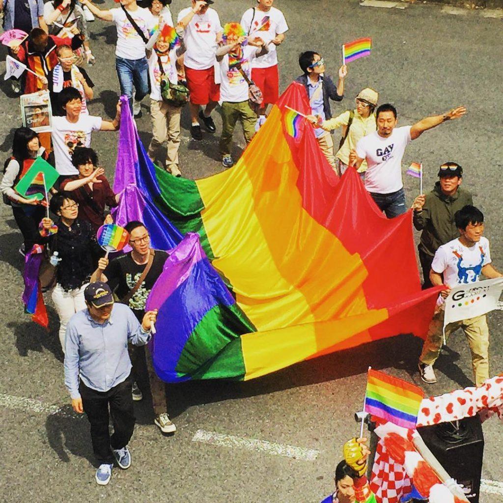 Tokyo Rainbow Pride Parade 2018.