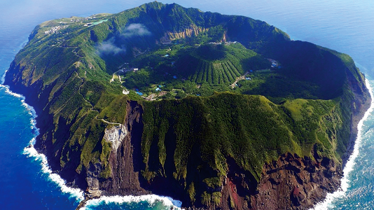 Aogashima (Reddit) Remote Islands Japan