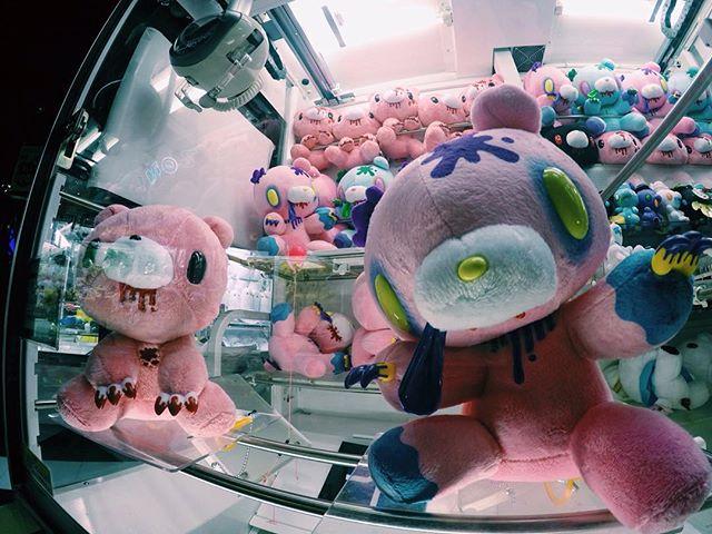 HEY Arcade Akihabara gloomy bears crane game